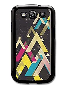 Cool Hipster Shapes in Space Sci-fi case for Samsung Galaxy S3