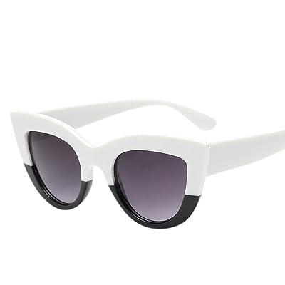 6dfbac260be9cc AMUSTER Lunettes de Soleil à Monture Brillante Rétro polarisées pour 100%  Protection Wayfarer avec lentille