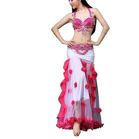 Zhongsufei-WD Falda de Baile Traje de Danza del Vientre for ...