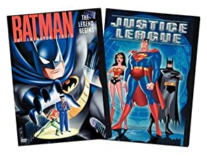 Batman: The Animated Series - The Legend Begins/Justice League [Import]