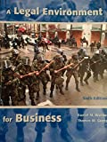 img - for A Legal Environment for Business book / textbook / text book