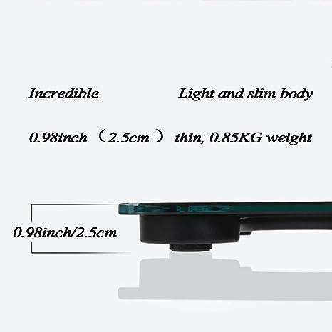 FLy Escala Inteligente De Peso Cuerpo Electrónico Peso Corporal Grasa Corporal Escala Corporal Grasa Grasa Precisión Bluetooth Balanzas electrónicas (Color ...