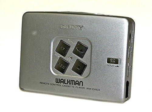 SONY ソニー WM-EX633-S シルバー カセットウォークマン(ポータブルカセットプレーヤー) 再生専用機   B06XS9WZ1V