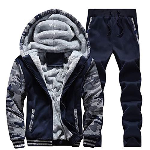 - Clearance!Fashion Casual Autumn Tracksuit Warm Fleece Sport Sweatshirt Hoodies Pants Suit Coat