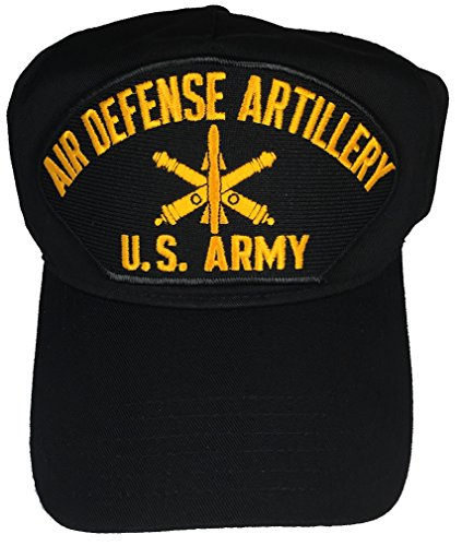 US ARMY AIR DEFENSE ARTILLERY HAT - BLACK - Veteran Owned Business