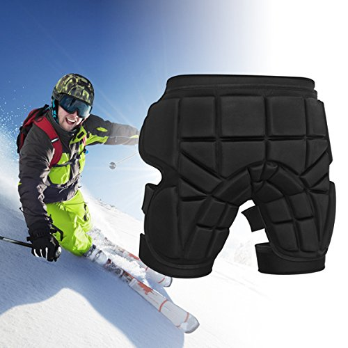 Discover Bargain Padded short, iFeng Protective Hip Padded Ski protective Pants for Skiing, Skateboa...