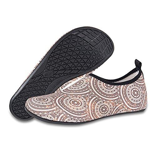 für Wassersport Yoga Aqua Herren Strandschuhe Badeschuhe Sonnenblume Barfuß Schwimmen Damen Leicht Schuhe Rutschfeste wqTqz6H