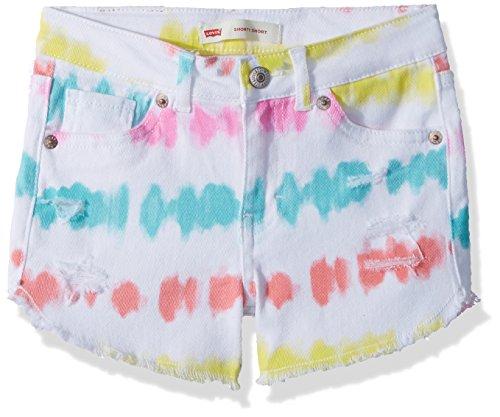 (Levi's Girls' Denim Shorty Shorts)