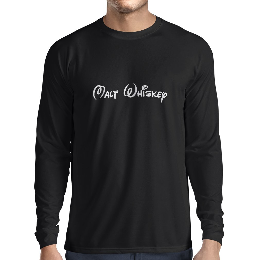 lepni.me Long sleeve t shirt men Malt Whiskey - funny drinking quotes, cool alcohol sayings VACOM ADVARTAIZING Ltd