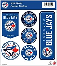 Toronto Blue Jays 12x14 Repositional Wall Decal Pack
