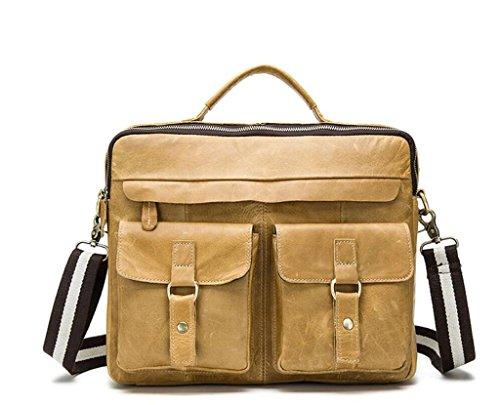 Messenger men's Men's Shoulder Bag Shoutibao Crazy Leather retro Bag 4 handbag Horse Bag TwZqzBxnq