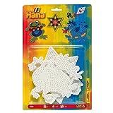 Hama Beads Star, Dragon & Frog Pegboard Set