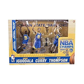 Image of NBA Golden State Warriors 2015 Action Figure 3-Pack