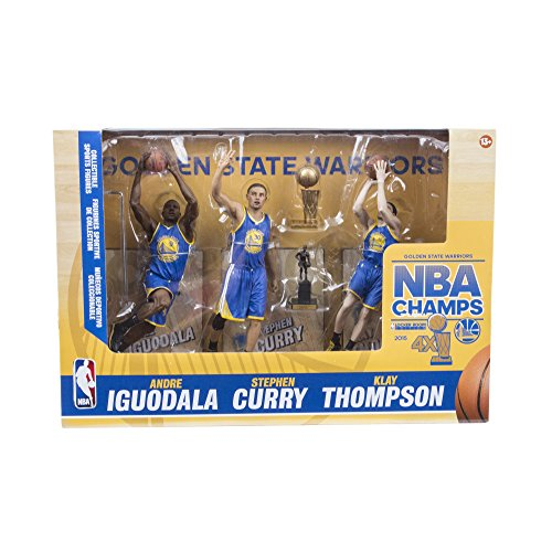 NBA Golden State Warriors 2015 Action Figure 3-Pack by McFarlane