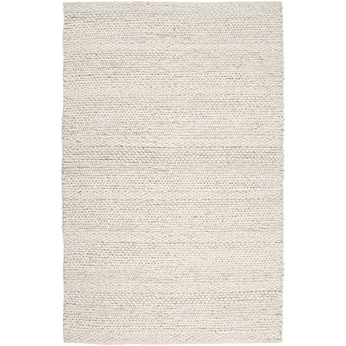 - Surya Tahoe TAH-3703 Transitional Hand Woven 100% Wool Parchment 8' x 10' Area Rug
