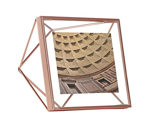 Umbra Prisma Picture Frame, 4 by 4-Inch, (Copper Single Wall)