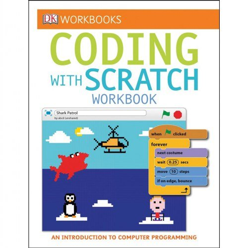 DK Publishing Coding with Scratch Workbook Set (Set of 3) - Paperback