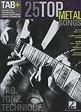 25 Top Metal Songs: Tab, Tone & Technique