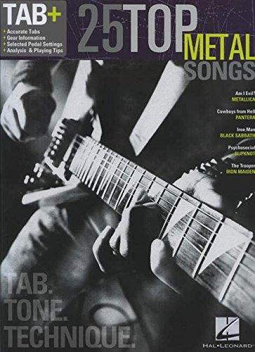 25 Top Metal Songs - Tab. Tone. Technique.: ()
