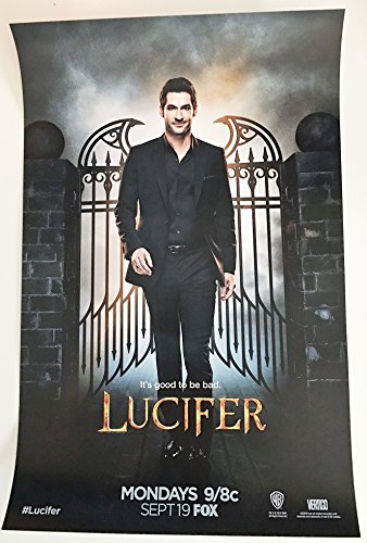 Lucifer Original Promo TV Poster Sdcc 2016 Wb