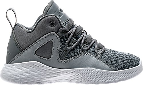 Jordan Boy's Formula 23 Basketball Shoes Cool Grey/Cool Grey-White-Wolf Grey 3Y by Jordan