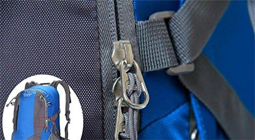 Bergsteigen Taschen Outdoor-Rucksack verdoppelt Tasche Männer Reise Camping abweisende 40L50L Wandern ( farbe : Armeegrün , größe : 40L )