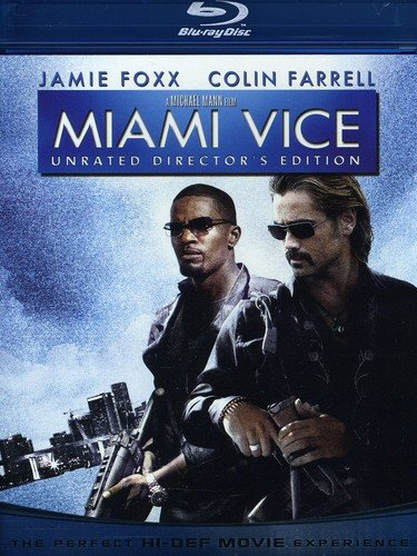 Blu-ray : Miami Vice (Digital Theater System, Widescreen, Unrated Version, , Dubbed)