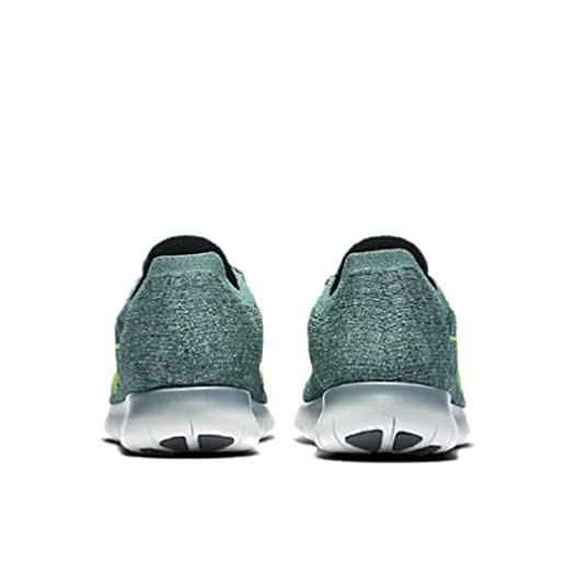 7c0c189df5ff Nike Free RN Flyknit Men s Running Shoes Hasta Seaweed Green Glow Ghost  Green 831069-304 Size 9.5  Buy Online at Low Prices in India - Amazon.in