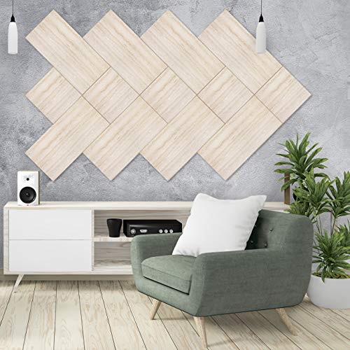 Magic Stone by Urban Decor - 3D Decorative Wall Panels for Home and Business Accent Wall (Peel & Stick or Glue On) (Beige Sand Stone, 18 sqft)