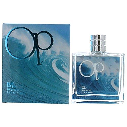 Blue Pacific Spray - Ocean Pacific Blue for Him Eau De Toilette Spray, 3.4 Ounce