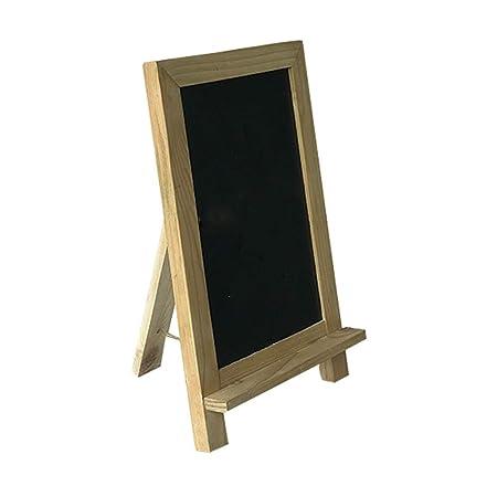 Pizarra Negra 20 Paquete de madera con marco de tiza Señales ...
