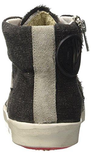 High Ishikawa Hautes Baskets jeans Nero Mixte Adulte avvdqr