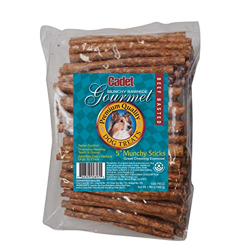 de Beef Munchy Sticks For Dogs, 5-Inch ()