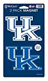 "WinCraft NCAA University of Kentucky WCR29041014 Magnets (2 Pack), 5"" x 9"""
