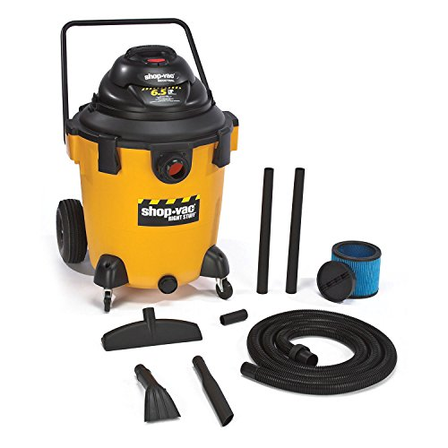 Shop-Vac 9626110 6.5-Peak Horsepower Right Stuff Wet/Dry Vacuum, 32-Gallon
