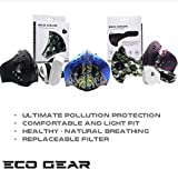 ECO-GEAR Anti Pollution Face Mask with Military