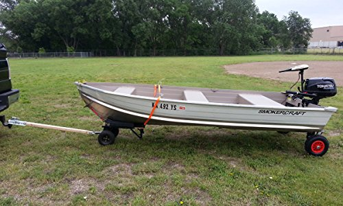 Portable Aluminum Boats : Goalposts seamax easy load boat launching dolly quot