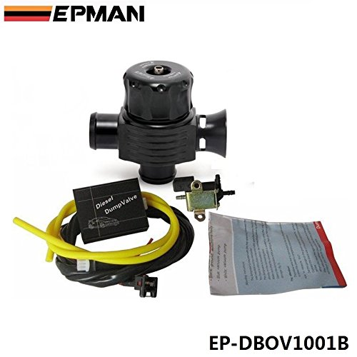 EPMAN TURBO DIESEL ELECTRONIC BLOW OFF VALVE DUMP VALVE KIT FOR BMW AUDI VW MERCEDES ISUZU EP-DBOV1001B (Mercedes Turbo Diesel)