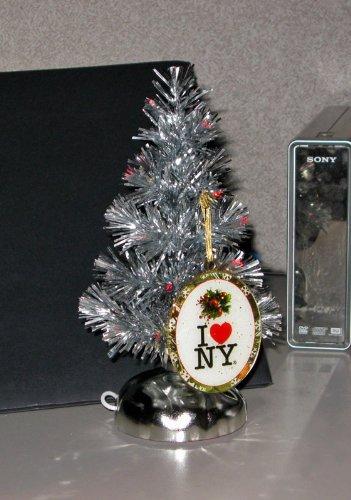 I Love New York USB Christmas Tree