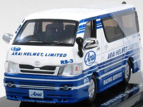 1/64 トヨタ ハイエース 'アライヘルメット' 「Beads Collection 京商ダイキャストカーシリーズ」 06661B
