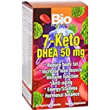 Bio Nutrition 7 Keto DHEA 50 mg - Reduce Body Fat - Anti Aging - Easy to Digest - 50 Vegetarian Capsules (Pack of 2)