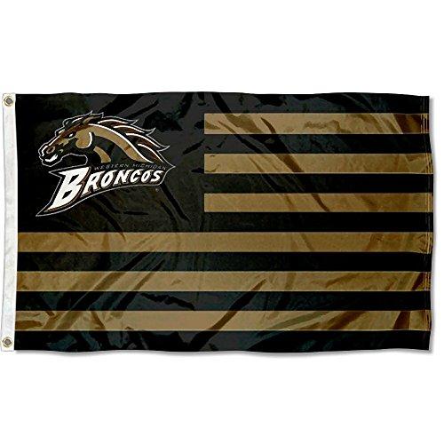 - Western Michigan Broncos Stars and Stripes Nation Flag