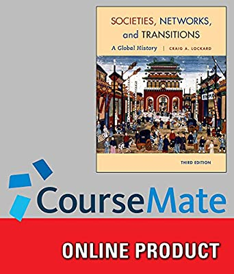 CourseMate for Lockard's Societies, Networks, and Transitions: A Global History, 3rd Edition