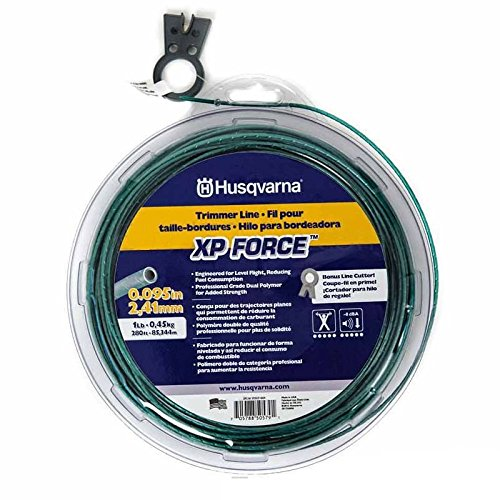 GENUINE OEM HUSQVARNA PARTS - .095/1# XP FORCE TRIMMER LINE 505031604 by HUSQVARNA PARTS