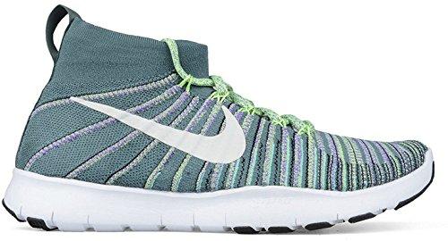 Nike Herren Free TR Force Flyknit Laufschuhe Hasta / Weiß-hyper Traube