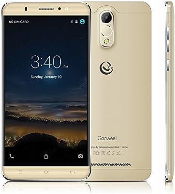 Gooweel M3 Smartphone 6.0 Pulgadas IPS Pantalla MTK6580 Quad Core ...