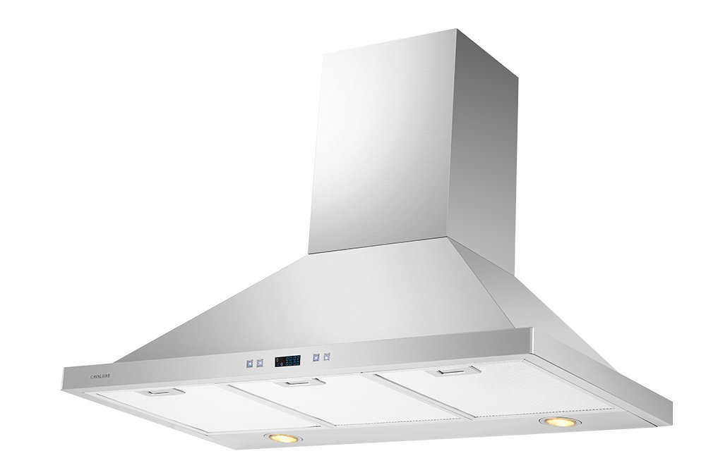 CAVALIERE 36'' Wall Mounted Stainless Steel Kitchen Range Hood 900 CFM SV218B2-36 by CAVALIERE (Image #3)