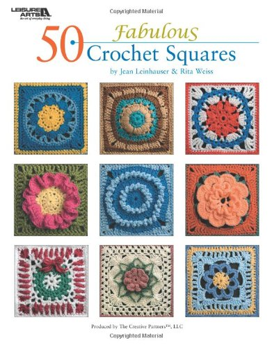 50 Thumping Crochet Squares  (Leisure Arts #4420)