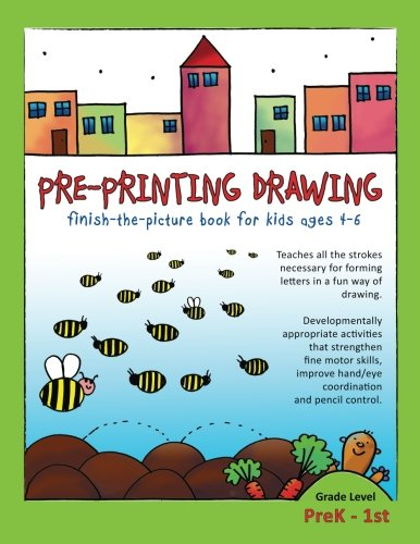 Pre-Printing Drawing: Teaches all the strokes necessary for forming letters in a fun way of drawing. Developmentally app