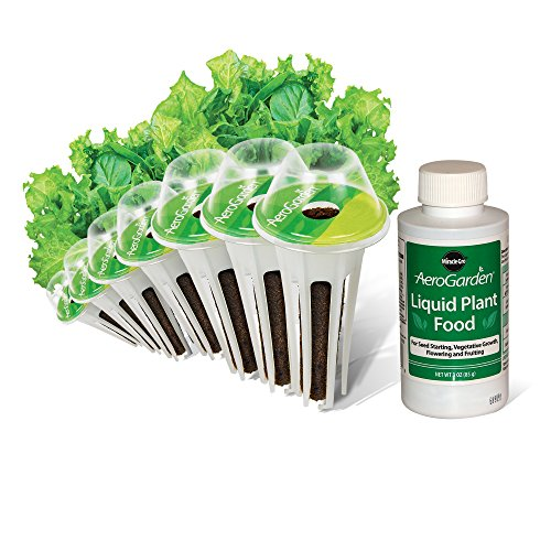 AeroGarden Salad Greens Mix Seed Pod Kit 7Pod